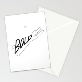 Unqualified Advice 13: Be bold Stationery Cards