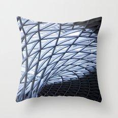King's Cross, London Throw Pillow