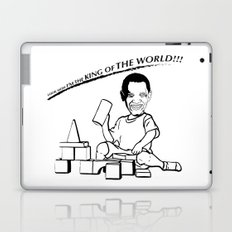 LOOK MOM I'M THE KING OF THE WORLD!!! Laptop & iPad Skin
