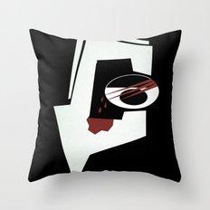 Debaser Throw Pillow