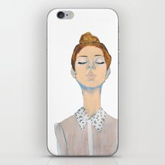 Just the thought of you. iPhone & iPod Skin