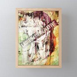 Ladies Love Framed Mini Art Print