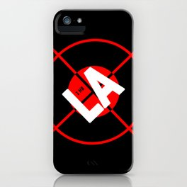 I H8 LA iPhone Case