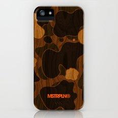 Modern Woodgrain Camouflage / Duck Print iPhone (5, 5s) Slim Case