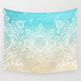 Beach Mandala Wall Tapestry