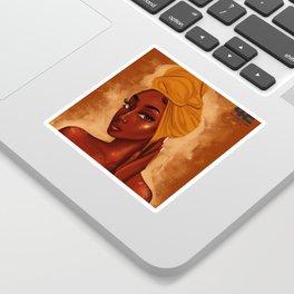 U R my african queen Sticker