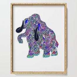 Purple elephant Serving Tray