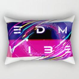 EDM Vibe Rectangular Pillow