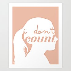 I don't count Art Print