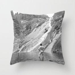 Bare Nature Throw Pillow