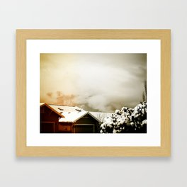 WinterSky #4 Framed Art Print