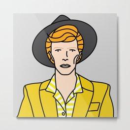David Bowie – Los Angeles 1974 Metal Print
