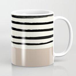 Latte & Stripes Coffee Mug
