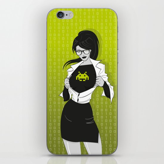 Super Geekette iPhone & iPod Skin
