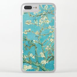 Van Gogh Almond Blossoms Painting Clear iPhone Case