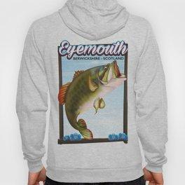 Eyemouth,Berwickshire, Scotland fishing poster Hoody