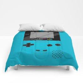 Gameboy Color - Teal Comforters