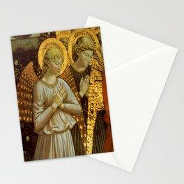 1459 Benozzo Gozoli - Angels (detail) Stationery Cards