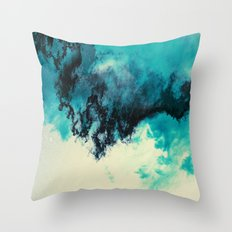 Painted Clouds V Throw Pillow