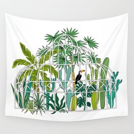 Royal greenhouse Wall Tapestry