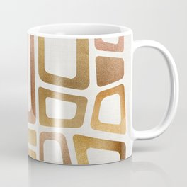 Mid Century Modern Metallics Coffee Mug