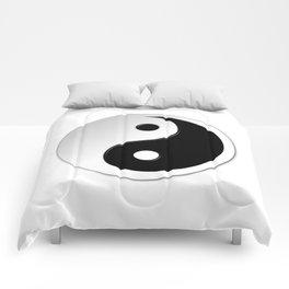 Yin Yang Symbol Comforters