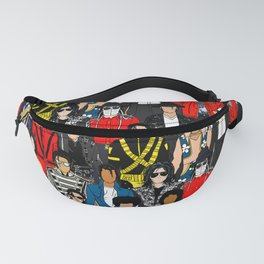 King MJ Pop Music Fashion LV Fanny Pack