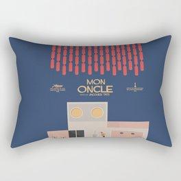 Mon Oncle - Jacques Tati Movie Poster, classic French movie, old film, Cinéma français, fun, humor Rectangular Pillow