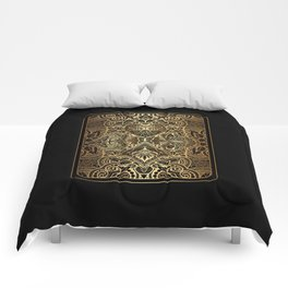 Ornament Gold Playing Card Comforters