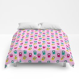 Game boy colors rain Comforters