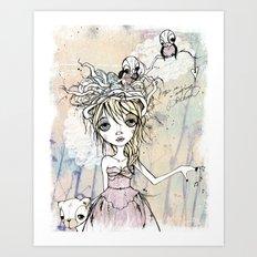 DREAMER'S AWAKE Art Print