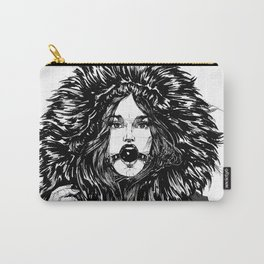 Lady Winter. Yury Fadeev© Carry-All Pouch