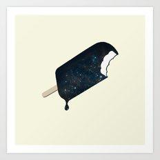 Space Melter Art Print