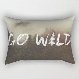 Go Wild Rectangular Pillow