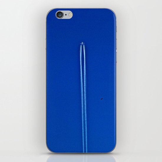 eagle racing plane iPhone & iPod Skin