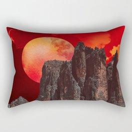 nice little place Rectangular Pillow