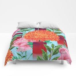 Peculiar Garden Comforters