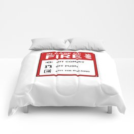 In case of fire git Comforters