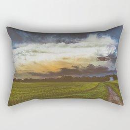 BURST AND BLOOM Rectangular Pillow