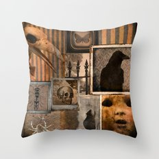 Gothic Menagerie Throw Pillow