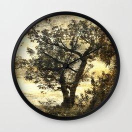 Pic Paradis In Saint Martin Wall Clock