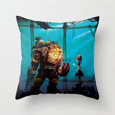 Silent Guradian Throw Pillow