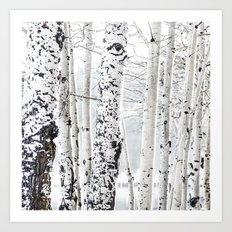 White Tree 2 Art Print