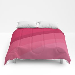 Colorblock in Pink Comforters