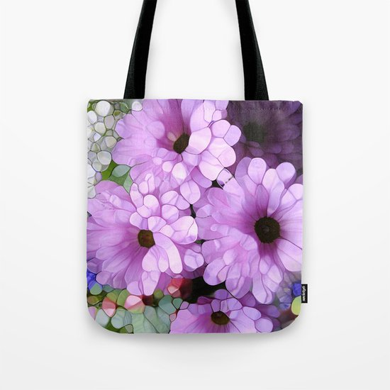 Daisies from the Galaxy Tote Bag