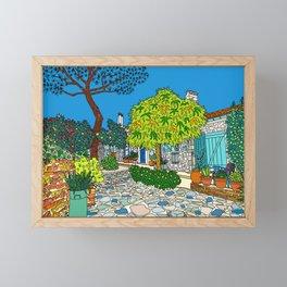 Colorful Collioure, France Framed Mini Art Print