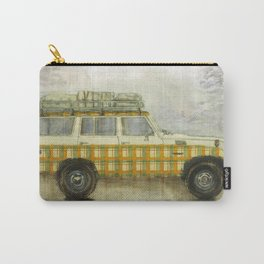 Plaid Land Cruiser Carry-All Pouch