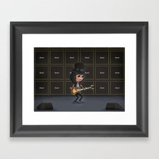 Slash Framed Art Print