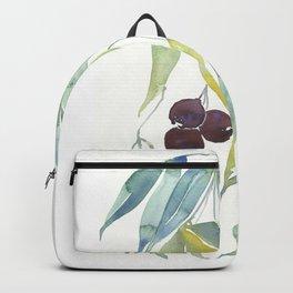 Australian bush gumnuts Backpack