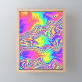 Rainbow Bliss Framed Mini Art Print